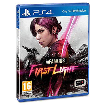 inFamous First Light - PS4 (Physical Version) - Intl