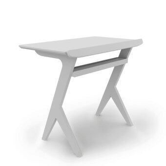 Innolife Casual Workstation โต๊ะวางคอมพิวเตอร์สำหรับนั่งโซฟาหน้าทีวี - สี Pure White