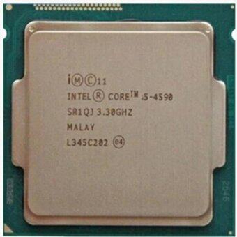 Intel Core I5/4590 Processor CPU(3.3GHz/350MHz) works on LGA 1150 mainboard no need adapter