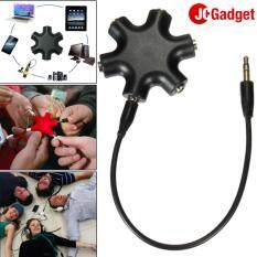 JC Gadget ช่องแยกหูฟังขนาดพกพา ( ดำ ) image
