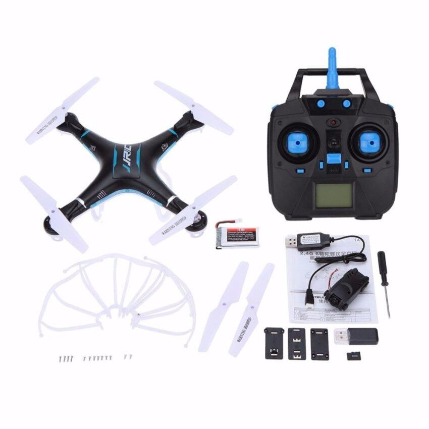 JJRC H5P 2.4G 6 Axis Gyro One Key Return Drone RC Quadcopter with 2.0MP HD Camera Headless Mode 3D Roll 1100mAh Battery