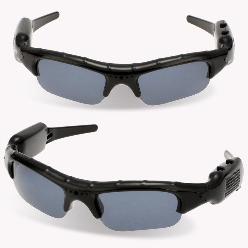 JoIn Pinhole Video Recorder DVR Sunglasses Portable Stereo Sunglasses Mini Camcorder -  ...