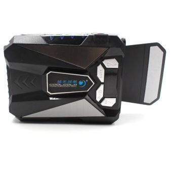 JOOX 4color LED C5 Mini LCD USB Vacuum Air Extracting Cooler Cooling Pad cooling fan for laptop