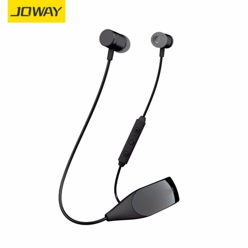 Joway H09 Bluetooth Headphones Sweatproof Wireless Sports Earphone Stereo Music Headset with Mic หูฟังออกกำลัง หูฟังไร้สาย for iPhone 7 iPhone 6 Android Phone หูฟังบลูทูธ