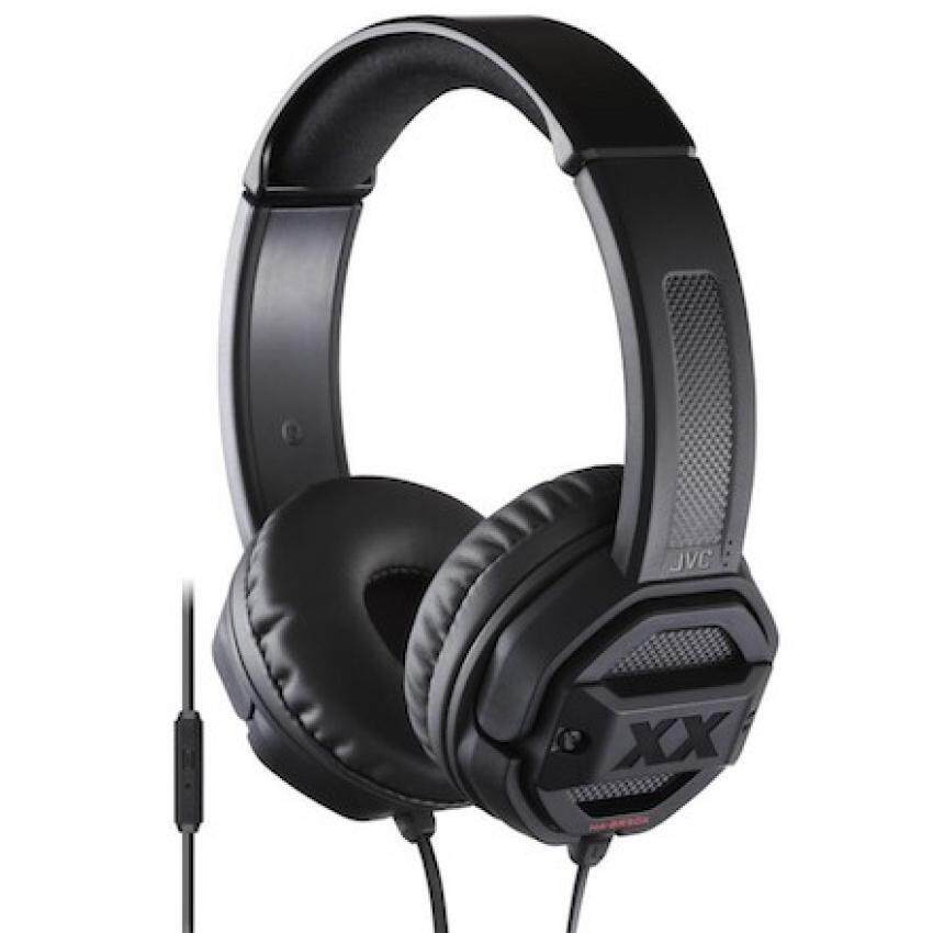 JVC HA-SR50X หูฟังเเบบ on-ear Xtreme Xplosive Series (Black) ประกันศูนย์ image