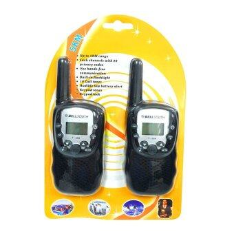 Kaidee Mini Walkie Talkie / Two Way Radio Intercom 22 Channels (แพ็คคู่)