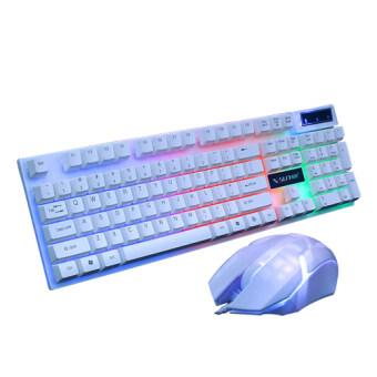 Keyboard mouse suite desktop notebook luminous game suits USB mouse USB keyboard
