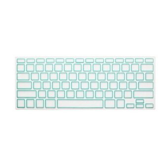 Keyboard protector 15.4 Inch for Apple MacBook Air MacBook Pro (Box White Blue 2)
