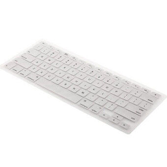 Keyboard Silicone Cover for Laptop 13.3 (White)