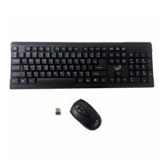 Keyboard+mouse ไร้สายPrimaxx รุ่น WS-KMC-8111