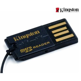 Kingston FCR-MRG2 G2 USB 2.0 microSDHC อ่านการ์ดหน่วยความจำแฟลช-สีดำ