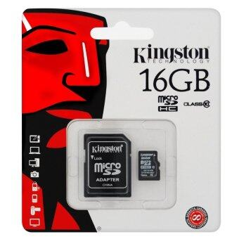 Kingston Micro SD Card 16GB Class10 SDC10/16GB (Black)