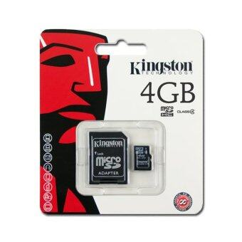 Kingston Micro SD Card Class 4 - 4GB with Adapter
