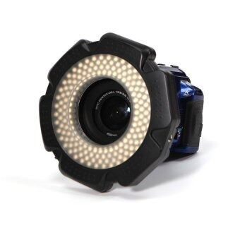 Lands 160 LED 12W Macro Ring Flash Continuous Light + 6 Lens Adapter for Canon Nikon etc Cameras