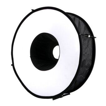 "Lands 45cm/18"" Collapsible Portable Ring Flash Diffuser Magnetic Round Softbox"