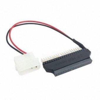 Laptop 2.5Inch 44pin to Desktop 3.5Inch 40pin IDE Hard Drive Adapter with DC 5V Power Connector