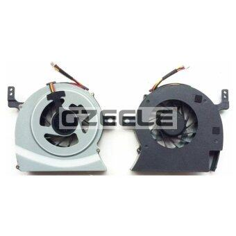 Laptop Cpu Cooling Fan for TOSHIBA L600 L600D L630 L640 L645 C600D C630 C640 L650-02D (Silver) (Intl)