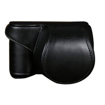 Leather Camera Cover for Sony A5000 A5100 NEX 3N Black