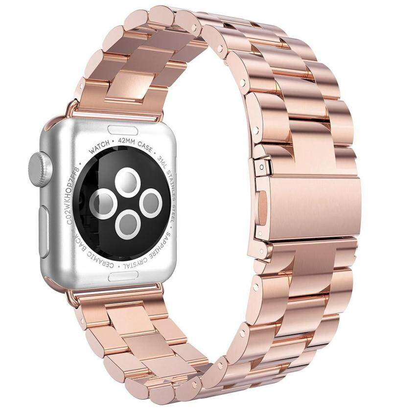 leegoal-solid-stainless-steel-replacement-strap -polished-metalwatchband-with-folding-clasp-for-apple-watch -38mmsilver-freesize-intl-6146-75785351- ...