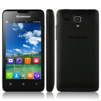 Lenovo A396 4.0 Android 2.3 Quad Core Cell Phone - Black