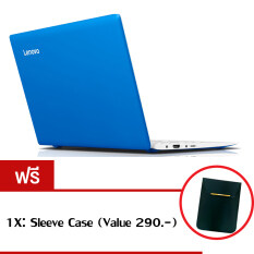 "Lenovo IdeaPad 100S-11(80R200ASTA) Atom Z3735F 2GB 64GB Win10 11.6"" (Blue) ฟรี 1X: Sleeve Case (Value 290.-)"