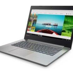Lenovo แล็ปท็อป IdeaPad 320-14AST AMD A4-9120 4G500G Dos (80XU002JTA) 2Y 14' (Black)