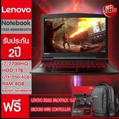Lenovo Notebook Lenovo Y520-80WK0034TA (Black)