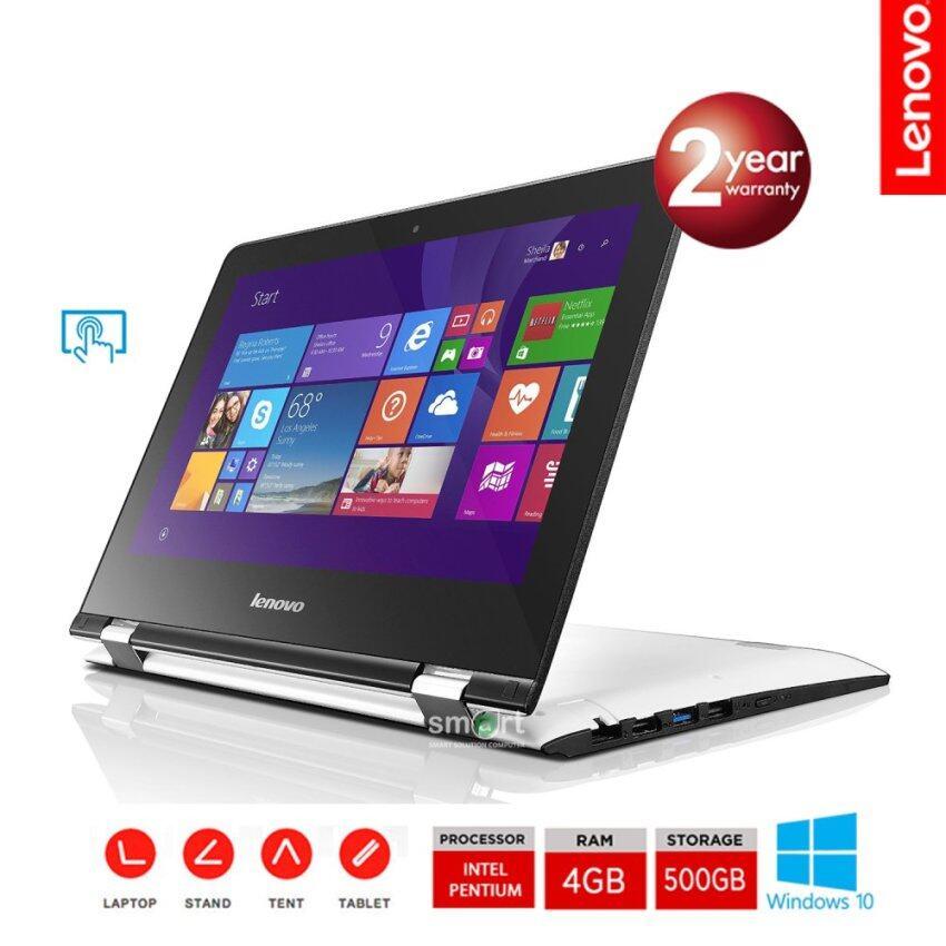 ราคาพิเศษ Lenovo Yoga 300 (80M100J2TA) PentiumN3710/4GB/500GB/11.6inch/Win10Home (White) สำหรับคุณ
