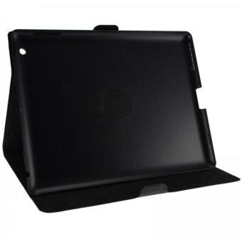 Lexma iMobile 360 Degrees Rotating Stand Case for Apple iPad 2 / 3 / 4 - Black
