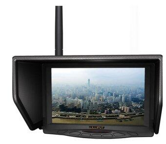 "LILLIPUT 329W 7"" FPV monitor with single 5.8Ghz(4 bands & total 31 channels) wireless receiver for Aerial & Outdoor Photography."