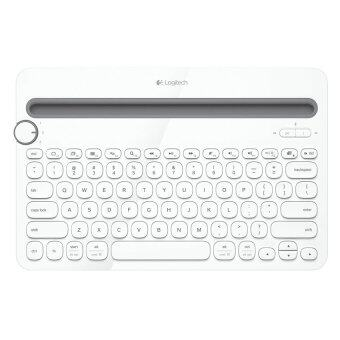 Logitech Bluetooth Multi-Device Keyboard K480 แป้นพิมพ์สกรีน TH/EN (White)