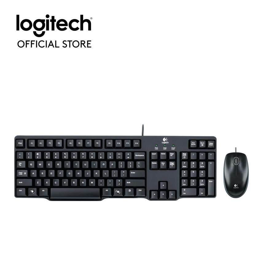Logitech Classic Desktop MK100 - THAI(Black)