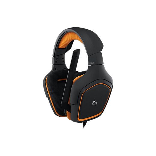 Logitech G231 Prodigy Gaming Headset (Black)