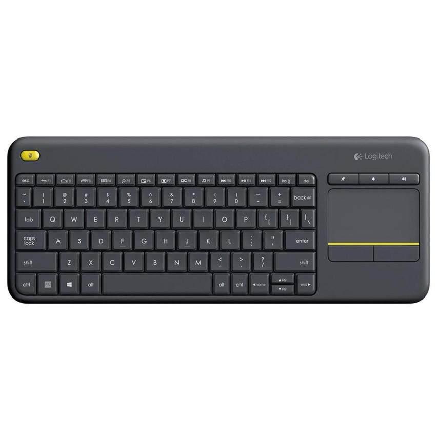 Logitech Living Room Keyboard K400 Plus - Black