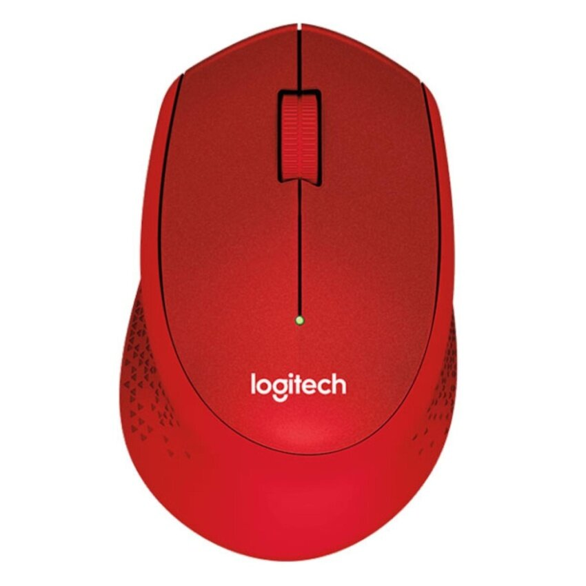 Logitech Mouse Wireless Silent Plus M331 Red