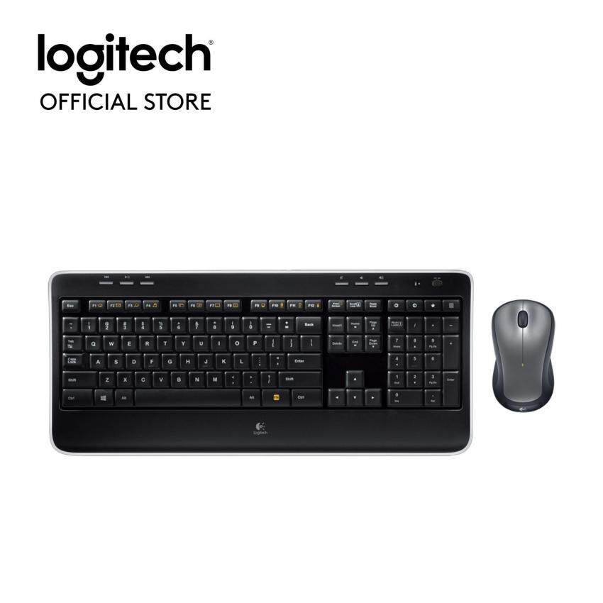Logitech Wireless combo MK520r (English caps only)(Black)