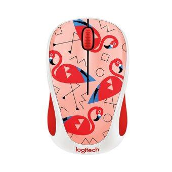 LOGITECH Wireless Mouse Party Collection รุ่น M238 (Flamingo)