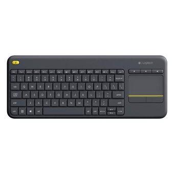 Logitech Wireless Touch Keyboard K400 Plus (Black)(TH/EN)