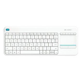 Logitech Wireless Touch Keyboard K400 Plus (White)(TH/EN)