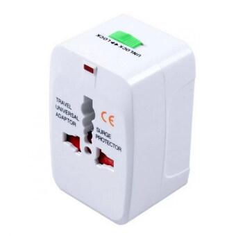 Lumira ปลั๊กไฟทั่วโลก ใช้ต่างประเทศ / ปลั๊ก Universal ( สีขาว )
