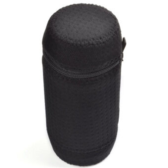 Lycra Zipper Carrying Case Bag for JBL Charge 2 Portable Wireless Bluetooth Speaker (Black)