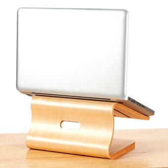 จักรวาลเย็นตัววงเล็บบูธสวยงามท่าไม้สำหรับ MacBook Air/Pro Retina โน้ตบุ๊กคอมพิวเตอร์โน้ตบุ๊ค