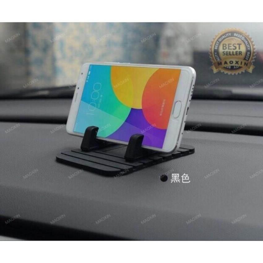 maoxin ขาตั้ง มือถือไนรถยนต์ car phone holder mobile phone mount holder Silicone antiski ...