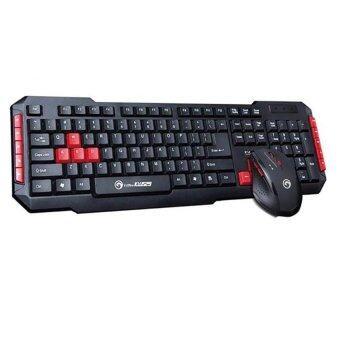 Marvo KW529 Wireless Keyboard + Mouse Combo (Black)