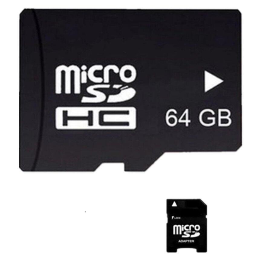 Memory Card เมมโมรี่การ์ด Micro SD (SDHC) Class 10 64 GB