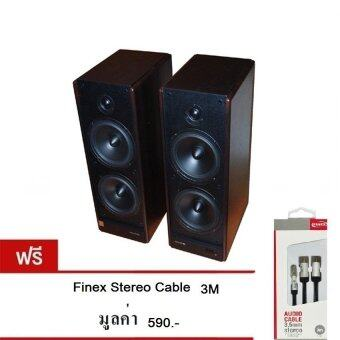 Microlab Speaker SOLO 7C (Black) ฟรี Finex Stereo Coid Cable 3M