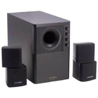 Microlab Speaker X2 (2.1 System) 46W RMS - Black(Black)