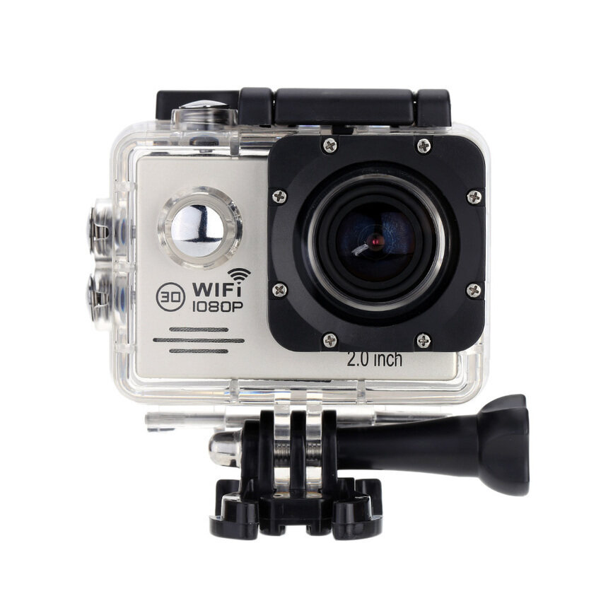 Mini Sport Diving Video Action Full HD Camera 2.0�x9D LCD WiFiDV1080P170 Degree Wide Ang ...