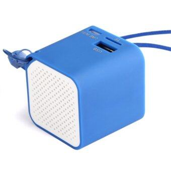 Mini Universal PC Wireless Bluetooth Speaker SCI Mic for iPhone Samsung Tablet(Blue)