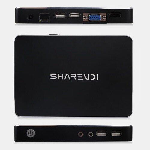 ด่วนMiniPC windows10 AMD Quad-Core; Radeon HD 8250; VGA + HDMI; DDR3L2G; SSD 32G รีบเลยนะ